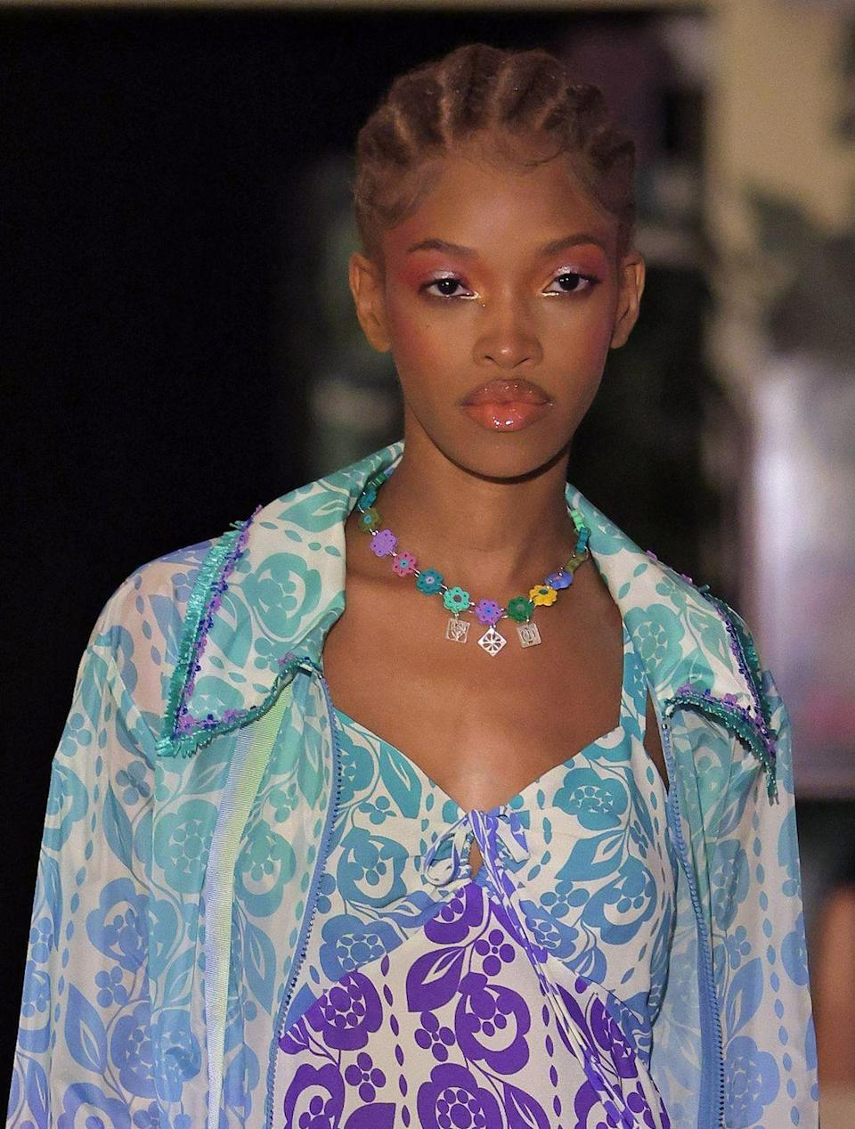 <p>With flower, butterfly, and alphabet charms, spring is all about playful, nostalgic necklaces. </p><p><em>Anna Sui</em></p>