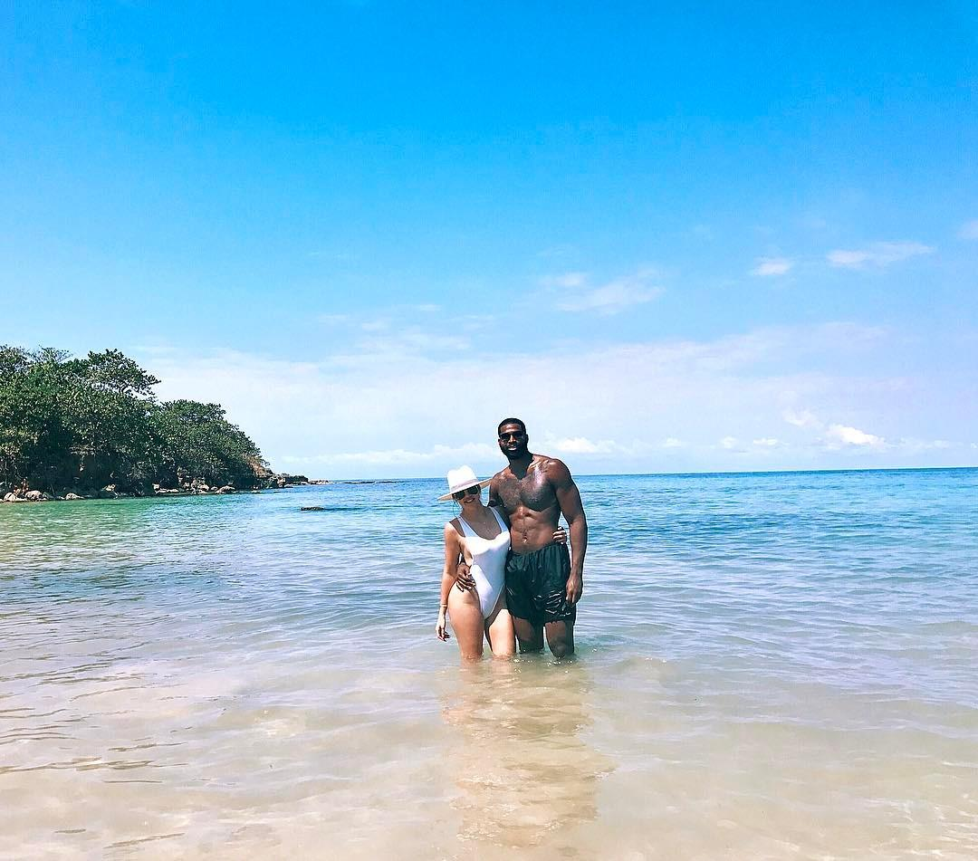 Recently-split Khloe Kardashian and Tristan Thompson jet-setted to super-romantic and gorgeous Jamaica. Here's hoping that the crystal-clear waters and Insta-ready beaches played no role in their breakup.