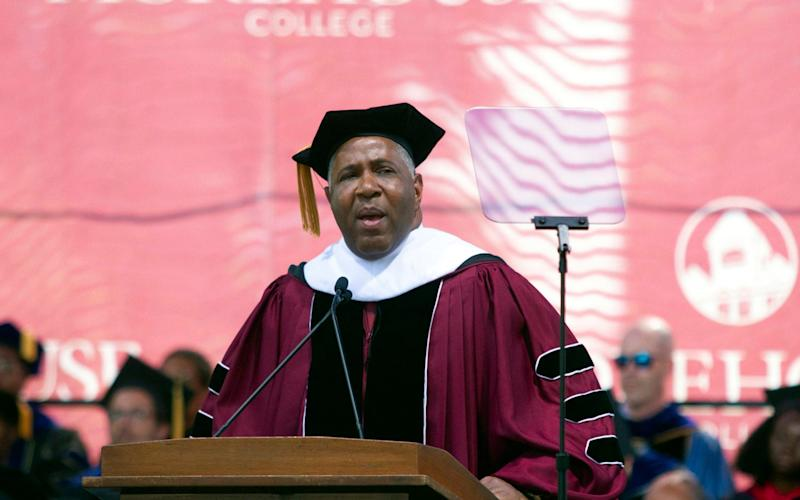 Robert F Smith, a billionaire technology investor, was the commencement speaker at Morehouse college, the alma mater of Martin Luther King - Atlanta Journal-Constitution