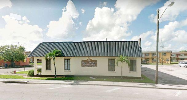 PHOTO: Stevens Brothers Funeral Home in West Palm Beach Fla., is pictured in this undated image from Google Street View. ( Google Street View)