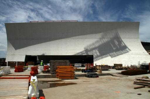 The REACH, whose Welcome Pavilion construction site is shown here, is a performance and rehearsal space set to open in September 2019 at the John F. Kennedy Center for the Performing Arts in Washington