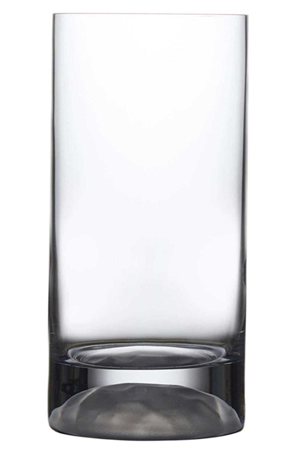 """<p><strong>NUDE GLASS</strong></p><p>nordstrom.com</p><p><strong>$50.00</strong></p><p><a href=""""https://go.redirectingat.com?id=74968X1596630&url=https%3A%2F%2Fwww.nordstrom.com%2Fs%2Fnude-club-ice-set-of-4-medium-highball-glasses%2F5480276&sref=https%3A%2F%2Fwww.townandcountrymag.com%2Fleisure%2Fdrinks%2Fg36491587%2Fcocktail-glasses-types%2F"""" rel=""""nofollow noopener"""" target=""""_blank"""" data-ylk=""""slk:Shop Now"""" class=""""link rapid-noclick-resp"""">Shop Now</a></p><p>From classic highballs to iced tea, the highball glass is a do-it-all workhorse that's as useful in your kitchen cabinet as it is in your bar cart.</p>"""