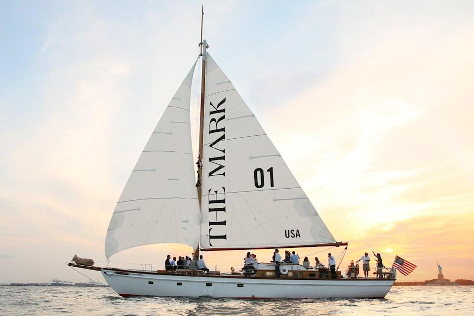 The Mark sailboat for dining