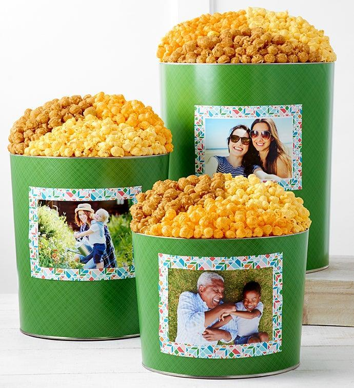 The Popcorn Factory Tins With Pop Personalized Tin (Credit: The Popcorn Factory)