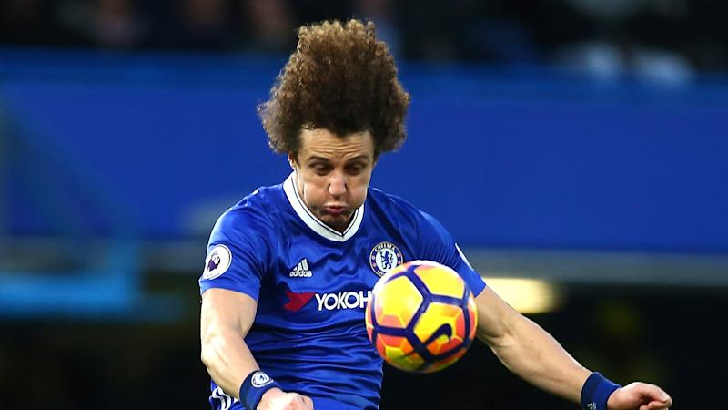 Traumtore! David Luiz hat Spaß im Training