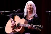 <p>Emmylou Harris was all smiles as she performed at City Winery in Nashville.</p>