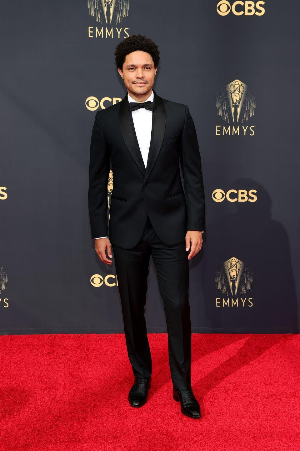 <p>Print this picture out and take it with you to the tailor if you're looking for the exact right way to wear a slim-fit tux. </p><p><em>In Versace</em></p>