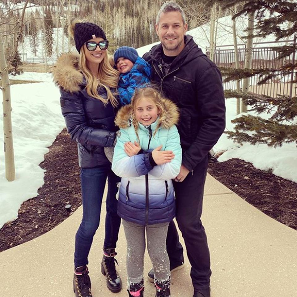 "<p>The HGTV star escaped to snowy Park City, Utah, with her husband, British TV personality Ant Anstead, and her children, Brayden, 4, and Taylor, 9 — whom she <a href=""https://people.com/home/christina-anstead-and-tarek-el-moussa-reunite-at-daughters-school-show-we-all-sit-together/"">shares with ex Tarek El Moussa</a>. The family went tubing, roasted marshmallows, and even built a <a href=""https://www.instagram.com/p/B9Ry9arj9Ee/"">""healthy"" snowman</a> with vegan muffins for eyes and a banana for a mouth.</p>"