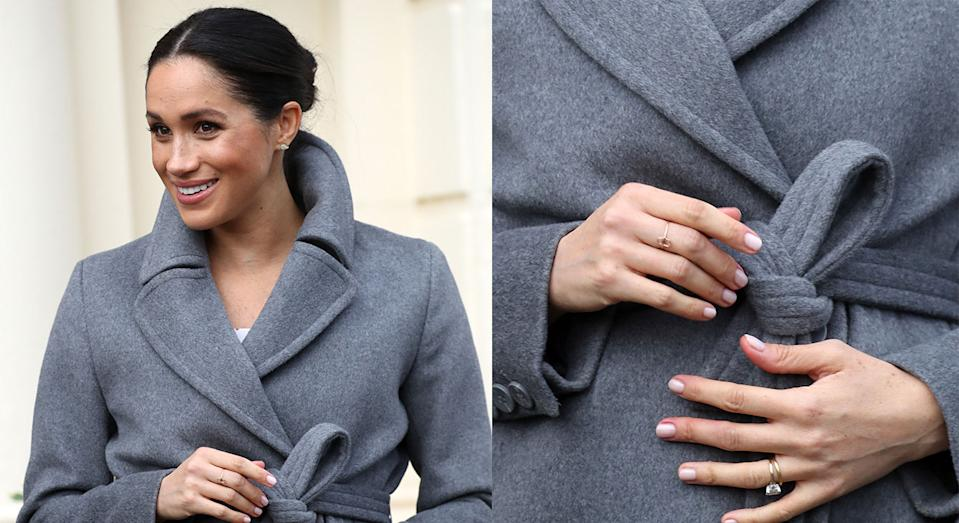 The Duchess of Sussex's hamsa ring is still availablel to buy online