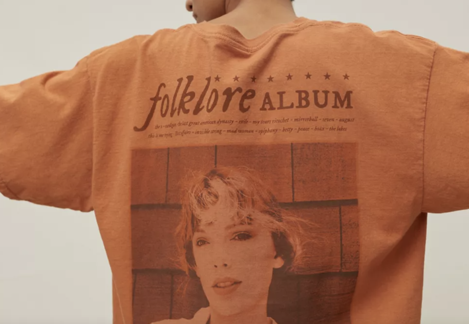 taylor-swift-urban-outfitters - Credit: Urban Outfitters