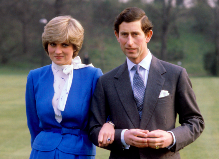 Charles and Diana announce their engagement in 1981 (Picture: PA)