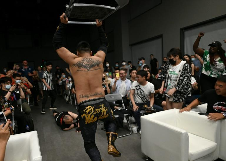 It's Black Mamba with a steel chair: MKW found Adrian Gomez says wrestling has 'very vocal and passionate' followers in China