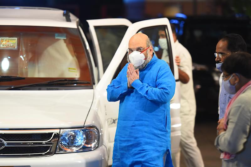 Home minister Amit Shah in a file photo. (Photo: Hindustan Times via Getty Images)