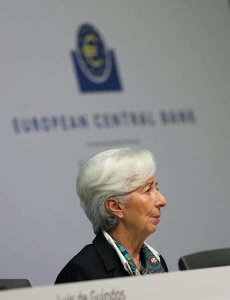 Lagarde got a lot of attention at her first ECB news conference