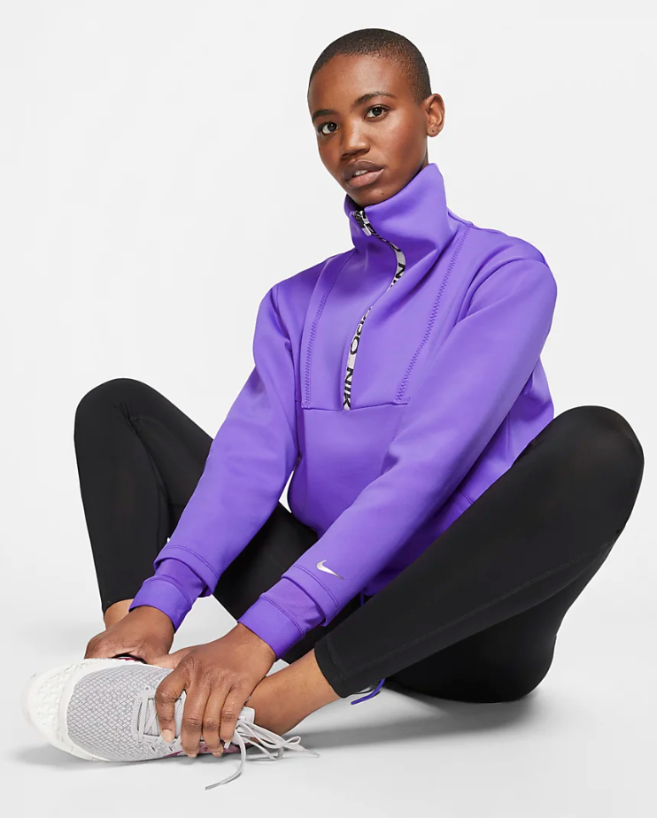 Nike Pro Fleece Cropped Top
