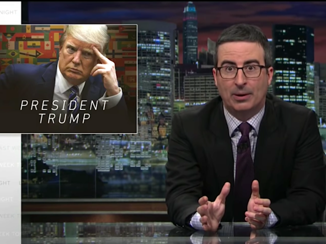 john oliver donald trump wiretap last week tonight HBO