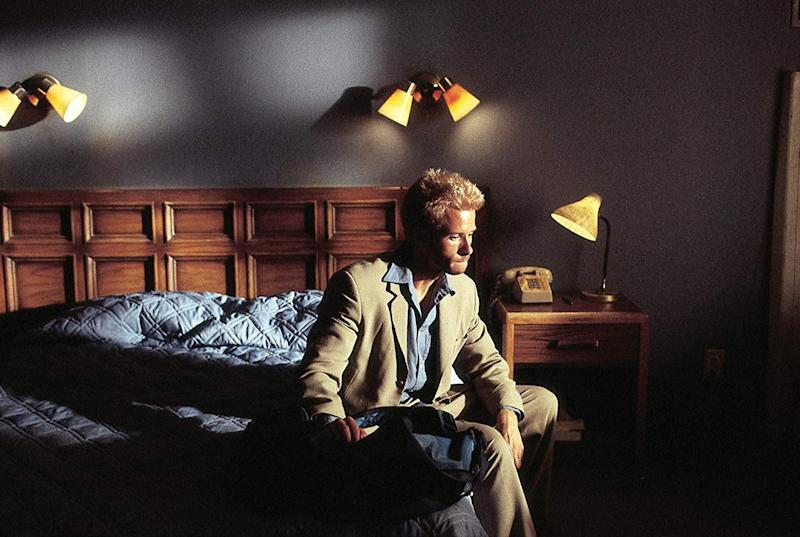 Guy Pearce as Memento's Leonard (Image by Summit Entertainment)
