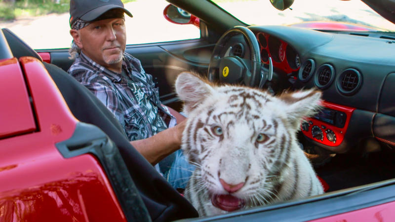 Jeff Lowe in 'Tiger King'. (Credit: Netflix)