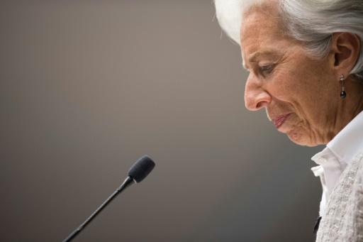 IMF's Lagarde down, not out, despite conviction
