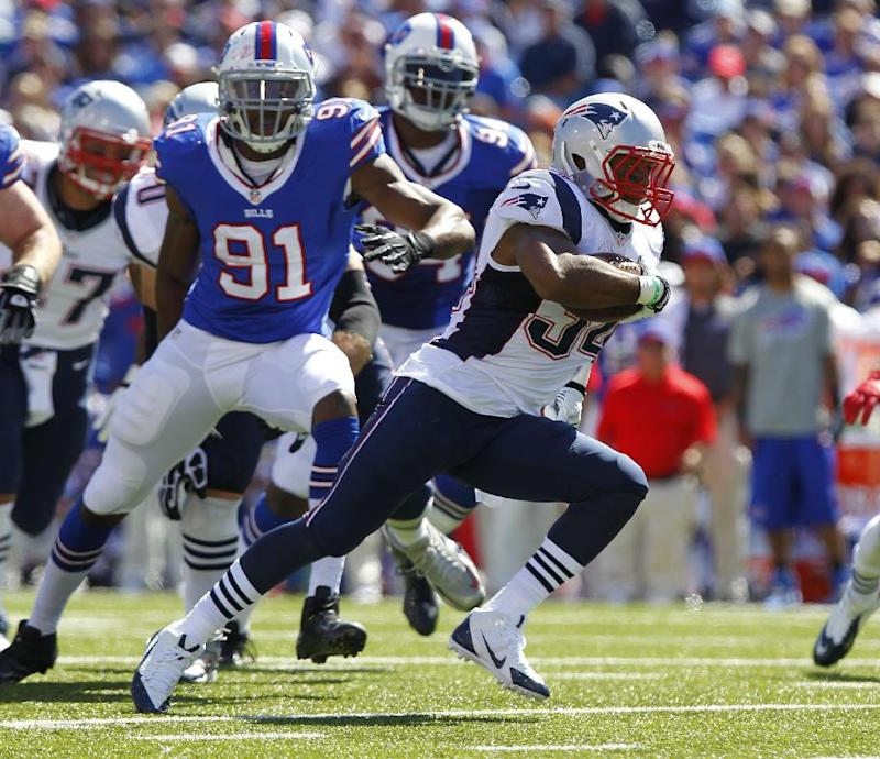 Patriots activate RB Vereen from IR