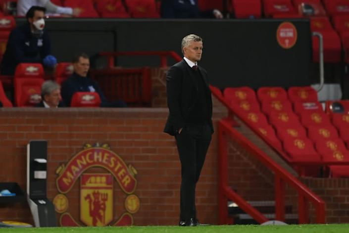 Solskjaer watches on as United fall to PalacePOOL/AFP