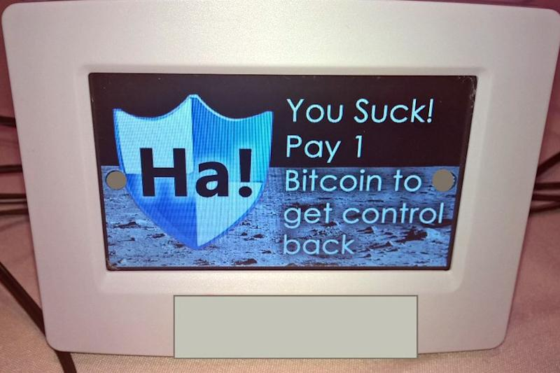 Defcon heats up with smart thermometer ransomware