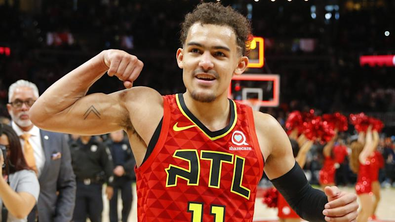 Trae Young Is Working With Kobe Bryant On His Mid Range Game