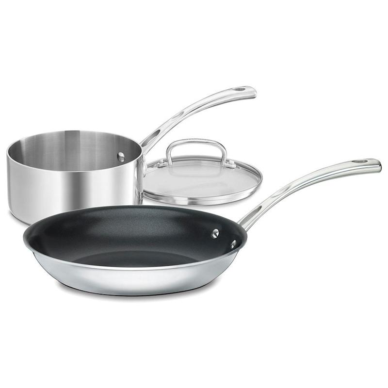 Cuisinart French Classic 3 Piece Non-Stick Cookware Set