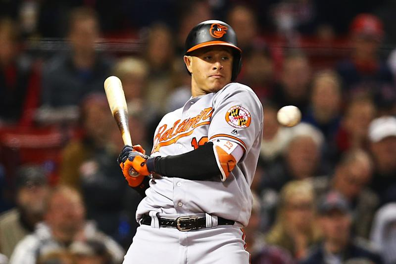 Manny Machado has been at the center of the Orioles-Red Sox beef. (Getty Images)