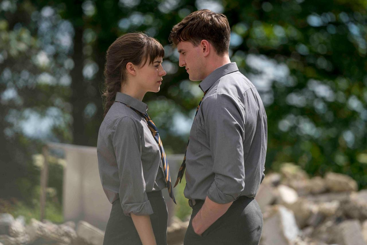 """<p>This Hulu and BBC adaptation of Sally Rooney's novel of the same name follows the tumultuous romance between Connell and Marianne, two Irish students who fight, fail to communicate, and have lots of sex between their final year in secondary school and their final year at Trinity College. It's devastating, it's hot, and it's no wonder why <a href=""""https://www.popsugar.com/entertainment/why-normal-people-paul-mescal-should-win-emmy-47652542"""" target=""""_blank"""" class=""""ga-track"""" data-ga-category=""""internal click"""" data-ga-label=""""http://www.popsugar.com/entertainment/why-normal-people-paul-mescal-should-win-emmy-47652542"""" data-ga-action=""""body text link"""">newcomer Paul Mescal was nominated for an Emmy</a>. </p> <p><product href=""""http://www.hulu.com/series/normal-people-57048262-2ca5-41ee-9b57-53bb9b9e1596"""" target=""""_blank"""" class=""""ga-track"""" data-ga-category=""""internal click"""" data-ga-label=""""http://www.hulu.com/series/normal-people-57048262-2ca5-41ee-9b57-53bb9b9e1596"""" data-ga-action=""""body text link"""">Watch <strong>Normal People</strong> on Hulu</product>. </p>"""