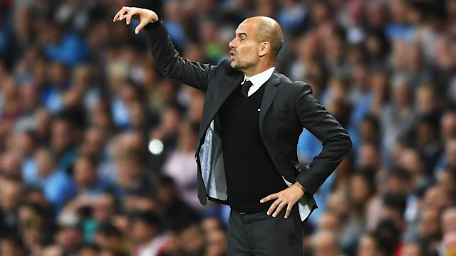 """Manchester City's problems """"in both boxes"""" were highlighted in their biggest win of the season, according to Pep Guardiola."""