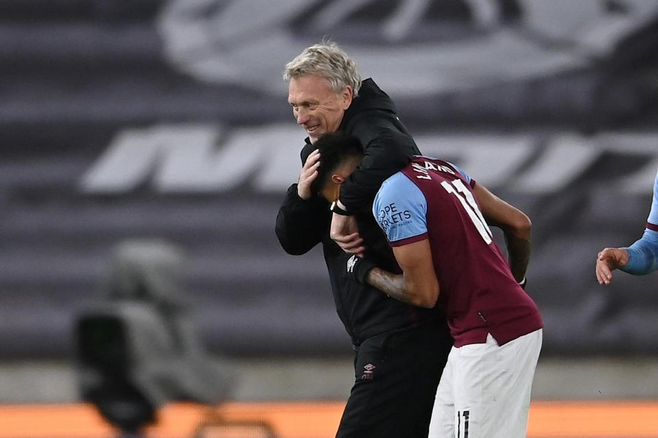 <p>Moyes wants to keep Lingard in east London</p> (Getty Images)