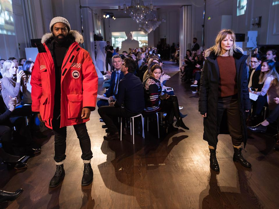 (Getty Images for Canada Goose)