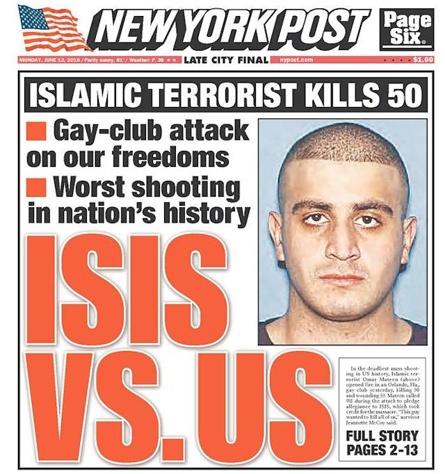 <p>New York Post<br> Published in New York, N.Y. USA.(newseum.org) </p>