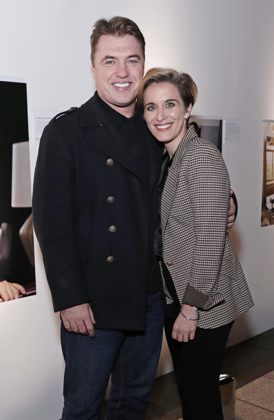The Line Of Duty star is engaged to actor, producer, writer and radio host Jonny Owen. (Getty Images)