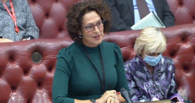 Labour peer Baroness Merron (Photo: House of Lords parliamentlive.tv)