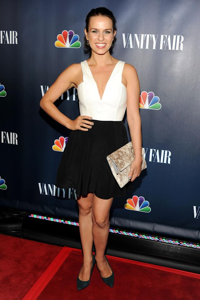NEW YORK, NY - SEPTEMBER 16: Actress Ana Nogueira attends NBC's 2013 Fall Launch Party Hosted By Vanity Fair at The Standard Hotel on September 16, 2013 in New York City. (Photo by Ben Gabbe/Getty Images)