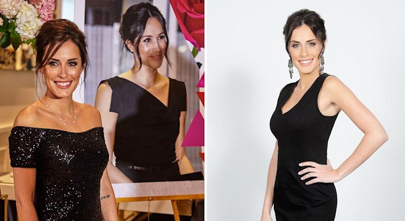 Tanya Ricardo spent £23,000 to look like Meghan Markle. [Photo: Caters]