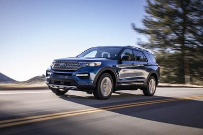 Hankook Tire announced it will be supplying America's best-selling SUV, the All-New 2020 Ford Explorer, with the premium grand touring all-season Kinergy GT tire.