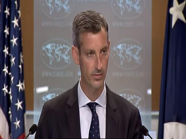 US State Department's spokesperson Ned Price