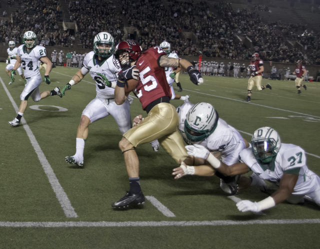 Windows beware: not recovering fumbles comes with some harsh punishment at Dartmouth. (Getty Images)