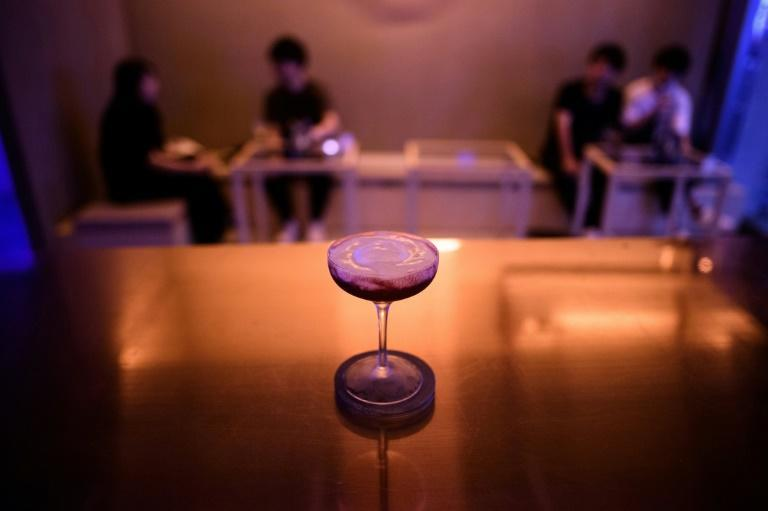 The '0%' non-alcoholic bar is something of an anomaly in Japan, where drinking is popular and considered an important part of business culture
