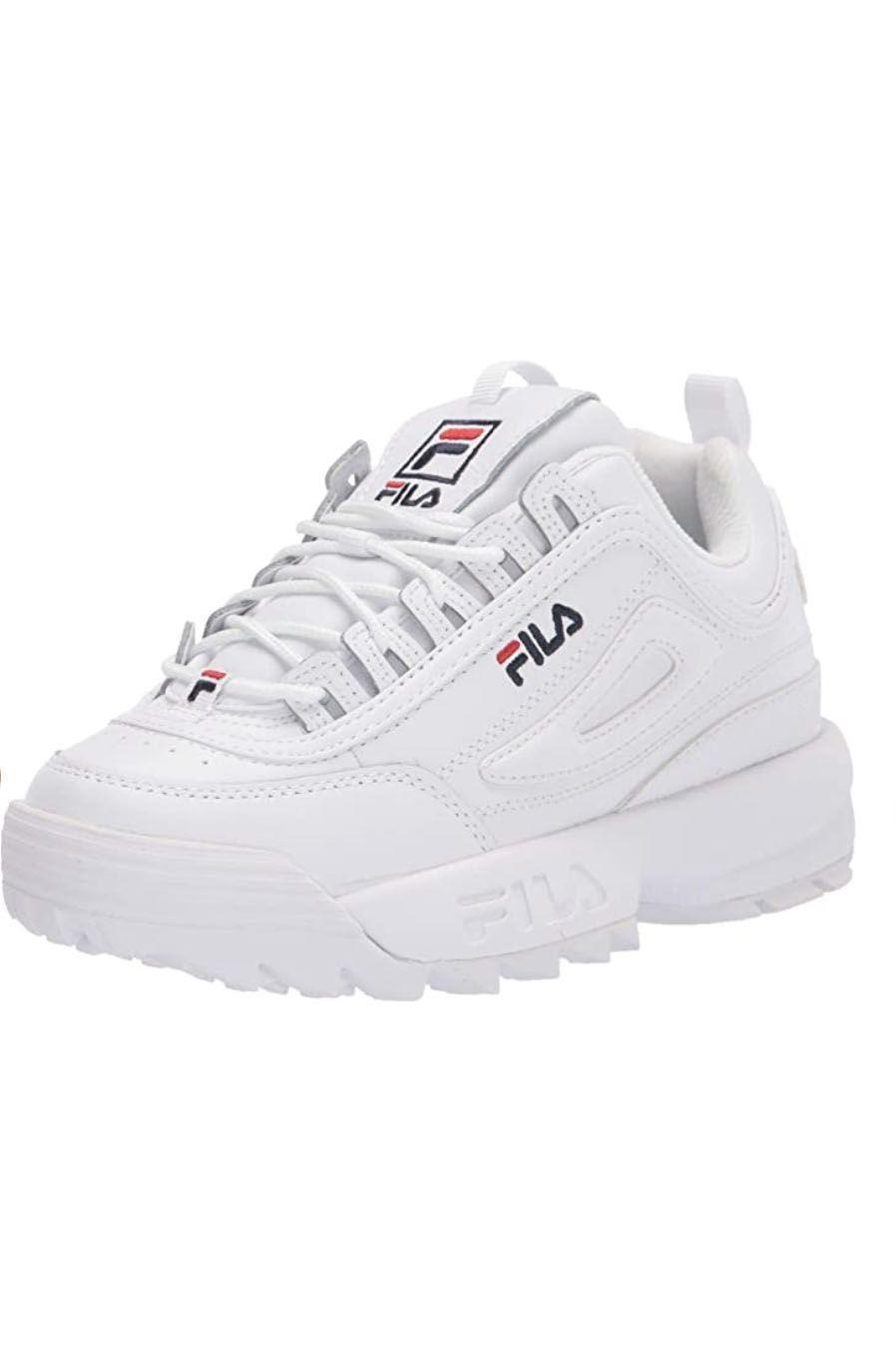 """<p><strong>Fila</strong></p><p>amazon.com</p><p><strong>$58.98</strong></p><p><a href=""""https://www.amazon.com/dp/B0744194FY?tag=syn-yahoo-20&ascsubtag=%5Bartid%7C10049.g.36746335%5Bsrc%7Cyahoo-us"""" rel=""""nofollow noopener"""" target=""""_blank"""" data-ylk=""""slk:Shop Now"""" class=""""link rapid-noclick-resp"""">Shop Now</a></p><p>Are you a TikTok girl? Then you need these Fila platform sneakers to complete the look. Platform sneakers have been on the rise the past few years, so you can get in on the trend with this classic pair. </p>"""