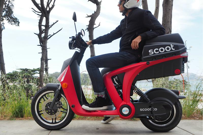 Scoot Networks teams up with GenZe to expand electric scooter fleet