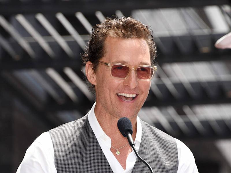 Matthew McConaughey to release first memoir