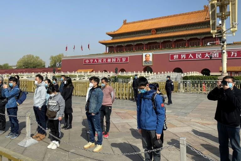 More than 3,000 people were killed by COVID-19 in China (AFP Photo/LEO RAMIREZ)