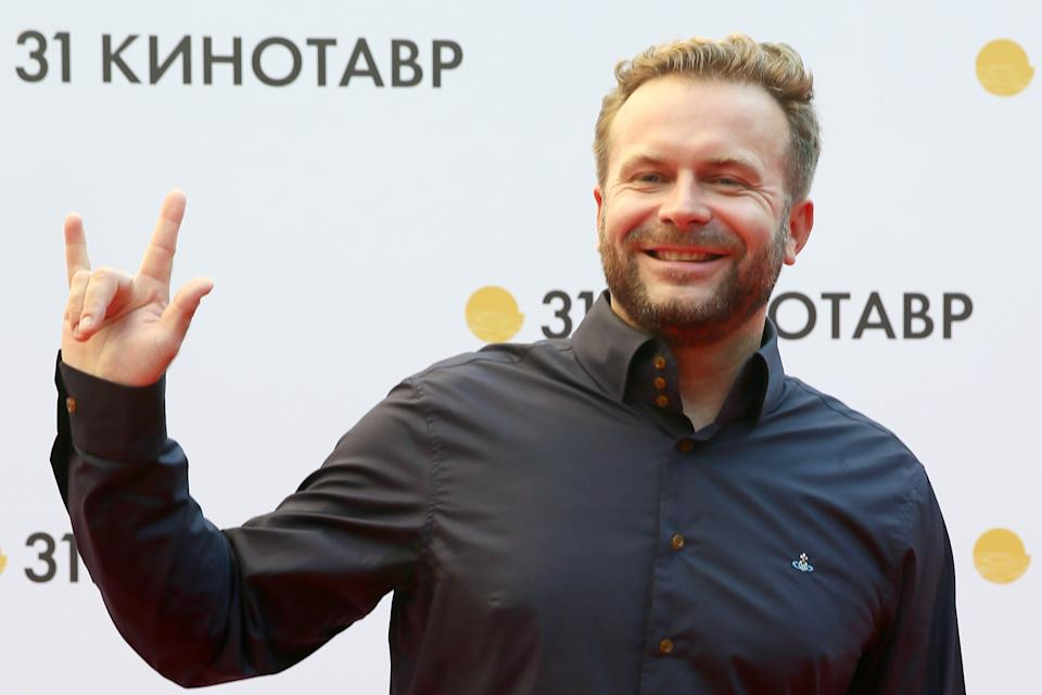 SOCHI, RUSSIA - SEPTEMBER 11, 2020: Film director Klim Shipenko poses for a photograph during the opening of the 2020 Kinotavr Film Festival. Dmitry Feoktistov/TASS (Photo by Dmitry Feoktistov\TASS via Getty Images)