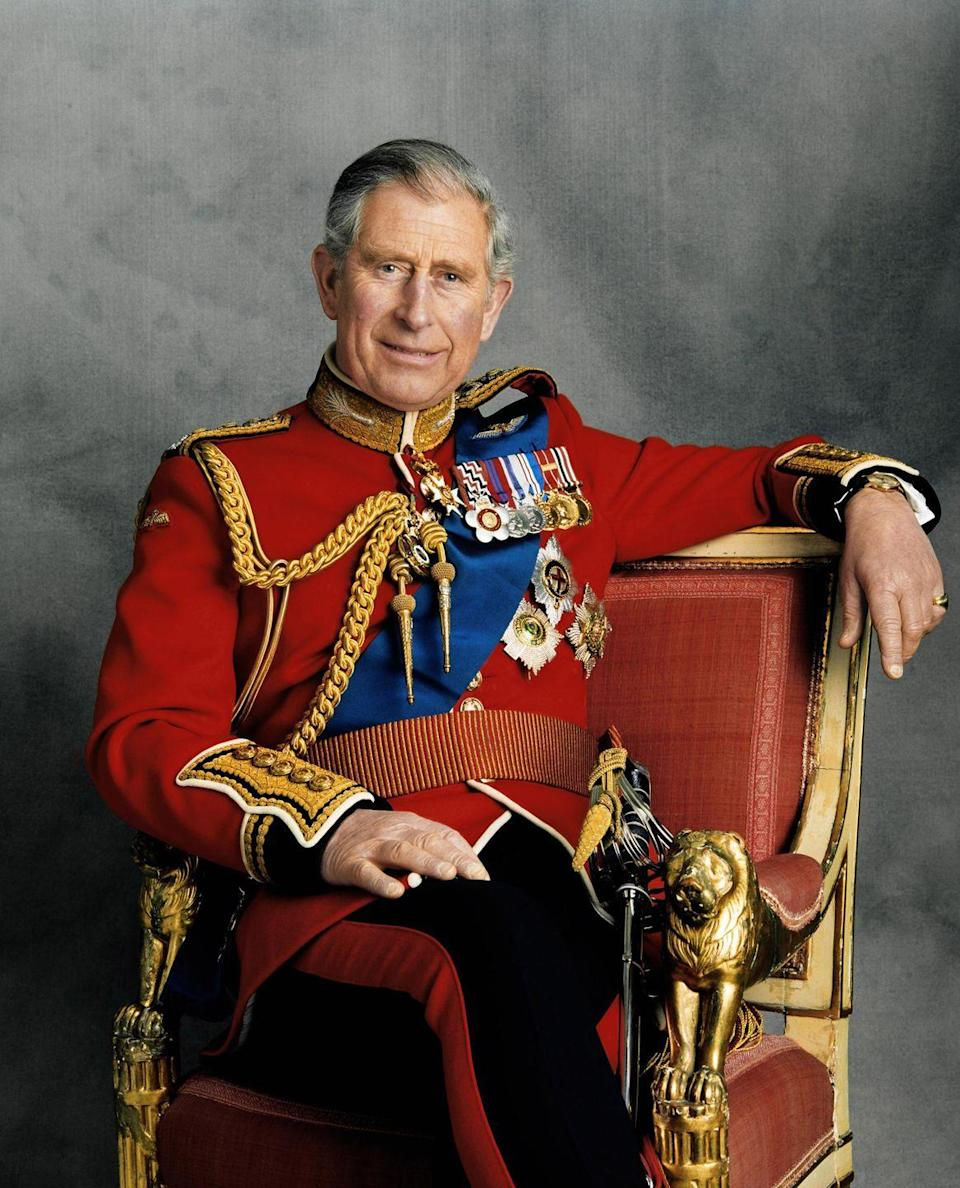 <p>The Prince of Wales is first in line to succeed his mother, Queen Elizabeth.</p>