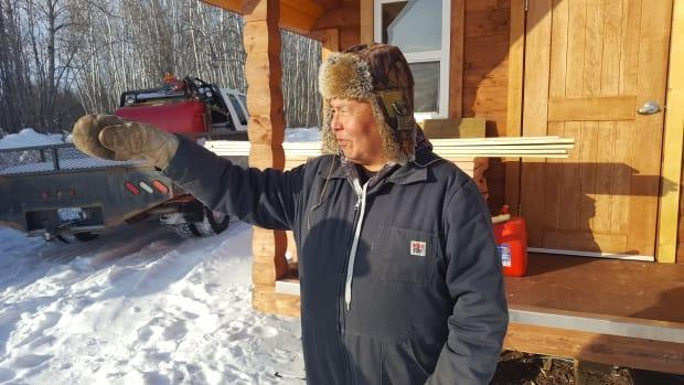 Kakisa Chief Lloyd Chicot says he has worriesover who will qualify to live in the newly announced affordable housing units in his community. (Peter Shledon/CBC - image credit)