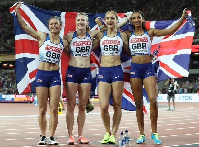 Nielsen was part of the Women's 4x400m who claimed silver at the 2017 IAAF World Championships